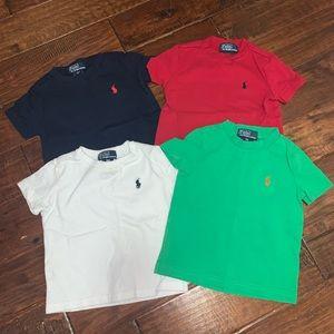 Ralph Lauren Polo Little Boys 9M T-shirt Bundle
